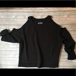 ◾️ Victoria's Secret Cold Shoulder Sweatshirt